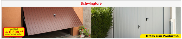 Schwingtor - Privat