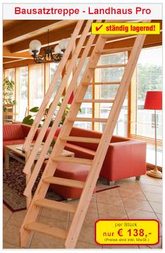 Raumspartreppe Landhaus Pro