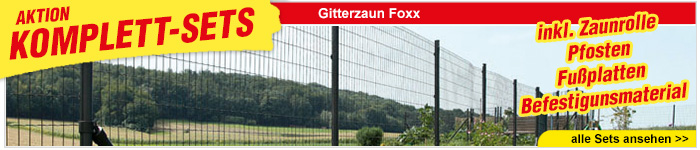 Gitterzaun Foxx Sets