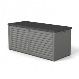 Gartenbox - Breite: 1435 mm, Tiefe: 534 mm, Höhe: 573 mm, Rauminhalt: 390 l
