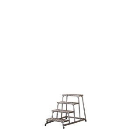 Alu-Montagetritt Mod. 190 - Stufenzahl: 4, senkrechte Höhe: 0,80 m