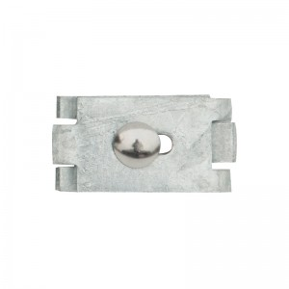 Gittermattenverbinder Paar, flache Form - Ausführung: verzinkt