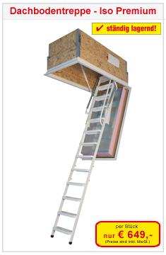 Dachbodentreppe Iso Premium