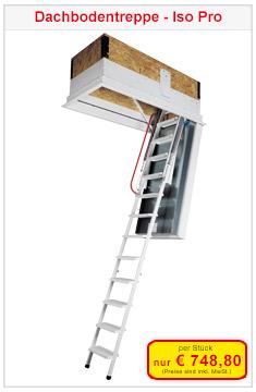 Dachbodentreppe Isopro