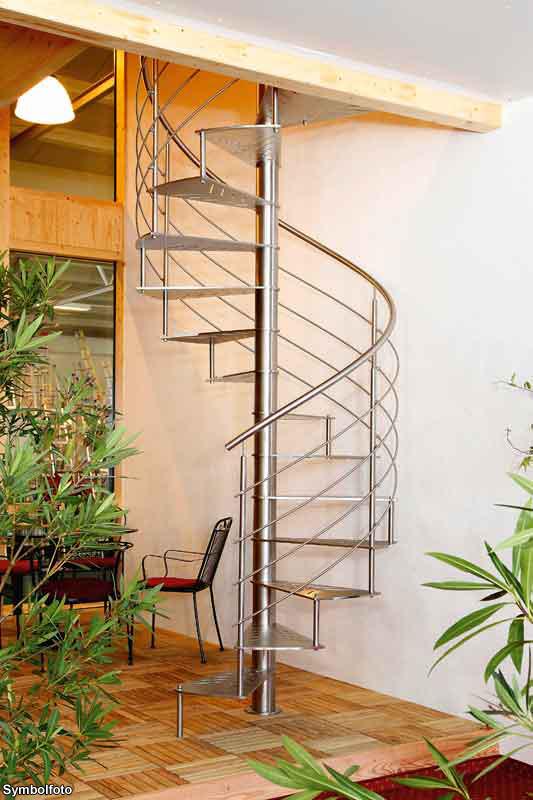 spiral staircases assembly instruction film german version. Black Bedroom Furniture Sets. Home Design Ideas
